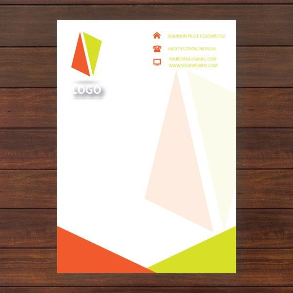 Headed paper template free vector download (17,222 Free vector ...