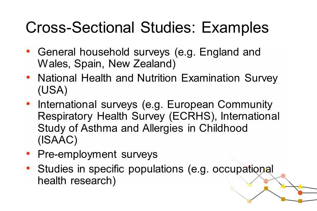 A short introduction to epidemiology Chapter 4: More complex study ...