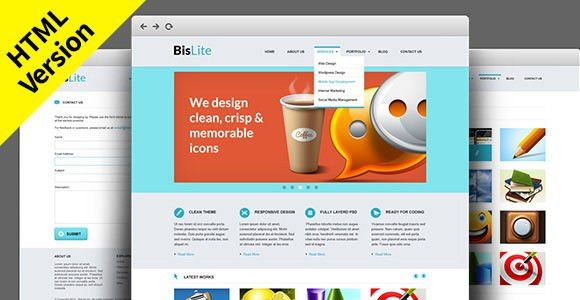 20 Newest Free HTML and CSS Website Templates with Stunning Designs