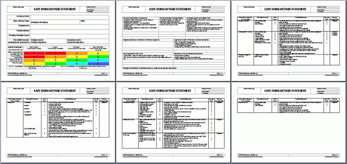 OHS Documents Australia – Construction