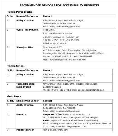 Access Report Template - 9+ Free Sample, Example, Format | Free ...