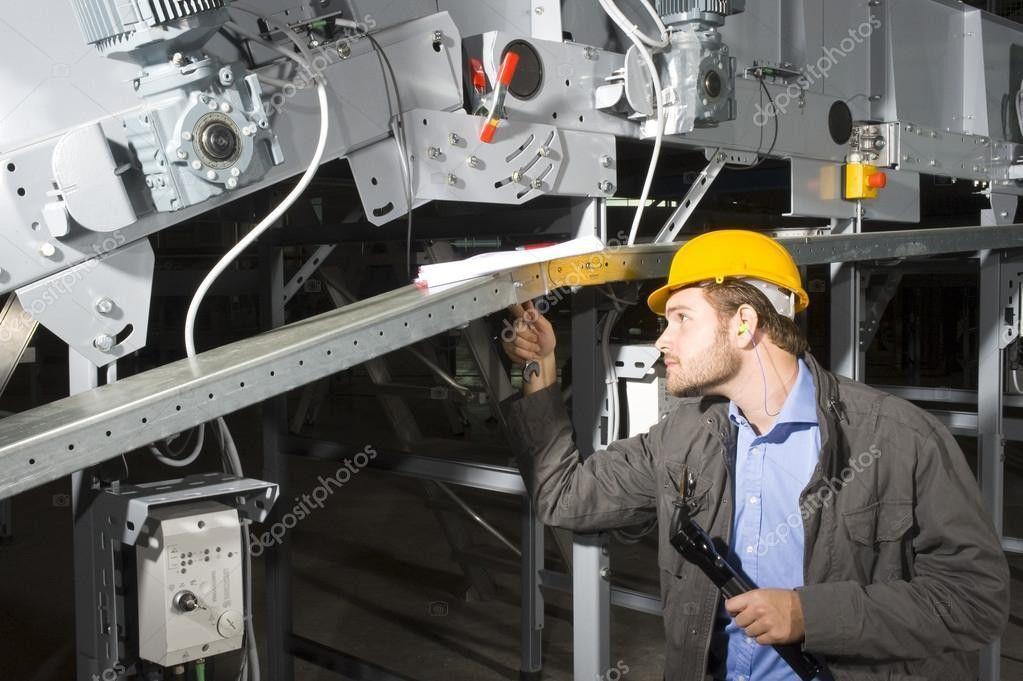 Maintenance engineer at work — Stock Photo © Corepics #2090252