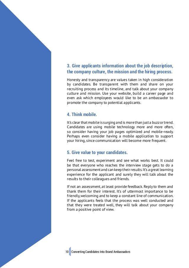 Whitepaper | Converting Candidates Into Brand Ambassadors