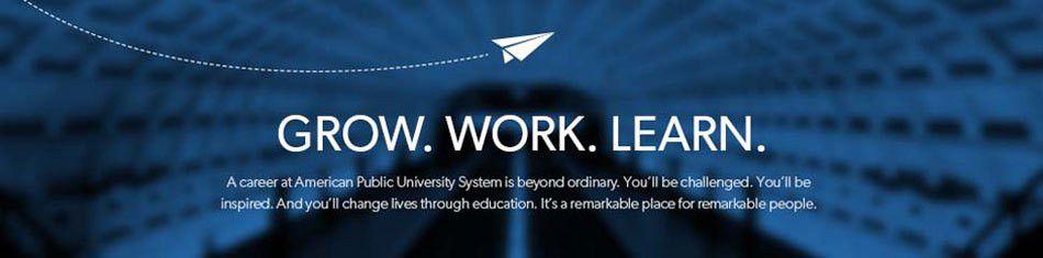 American Public University System Jobs - Online - eLearning ...