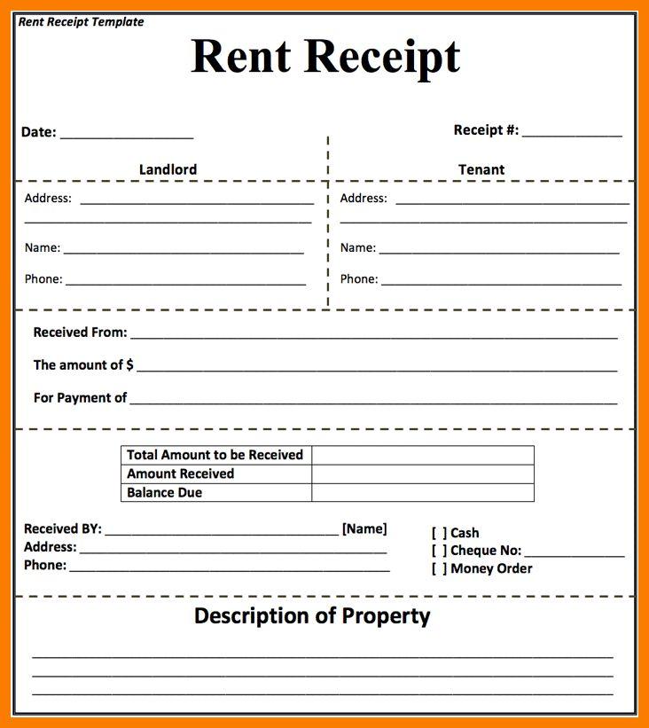 6+ rent receipt format pdf | park-attendant