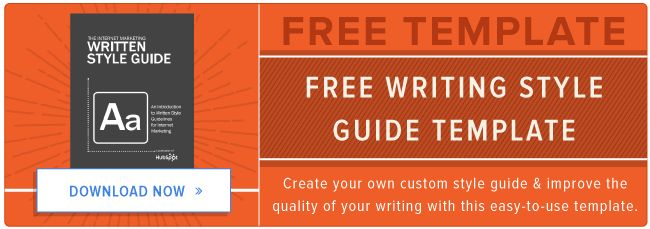 How to Create a Writing Style Guide Built for the Web [Free Template]