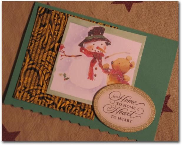 Handmade Recycled Christmas Greeting Cards, Set of 10 with ...