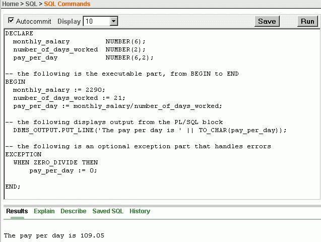 4 Using PL/SQL