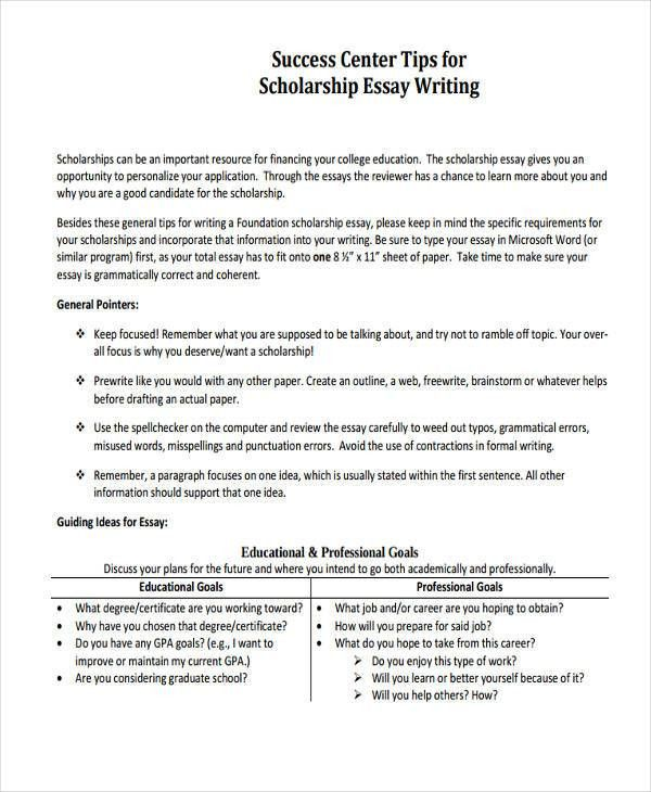 introduction to essay writing examples