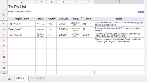 13 Useful Excel Templates for Freelance Designers
