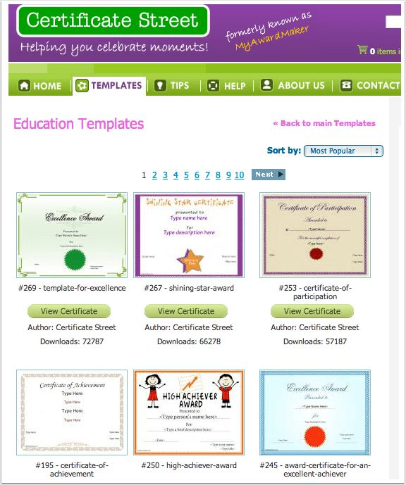 Free Printable Certificates | Ed Tech Ideas