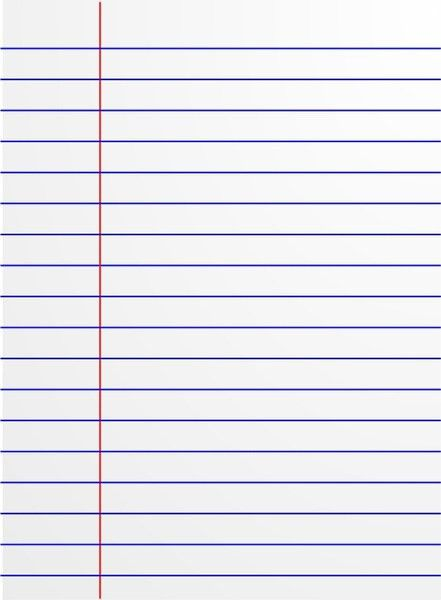 Lined paper icon Free vector in Open office drawing svg ( .svg ...