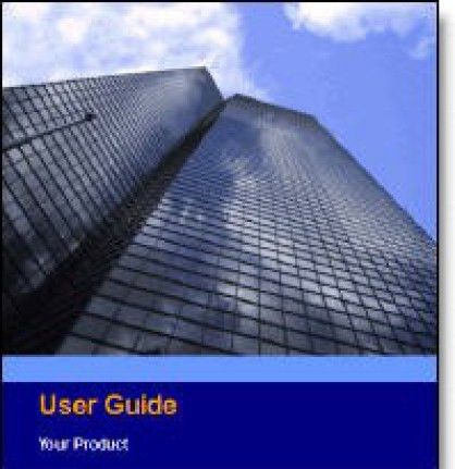 6 Free User Manual Templates - Excel PDF Formats