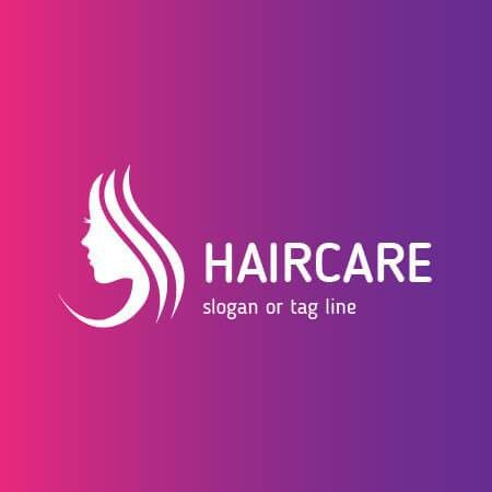 Hair Care Logo Design Template