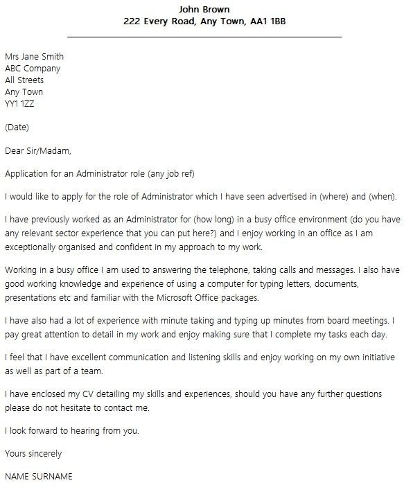 1000 Ideas About Good Cover Letter Examples On Pinterest In For ...