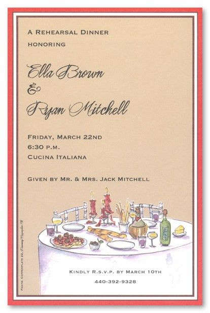 Formal Dinner Party Invitations | cimvitation