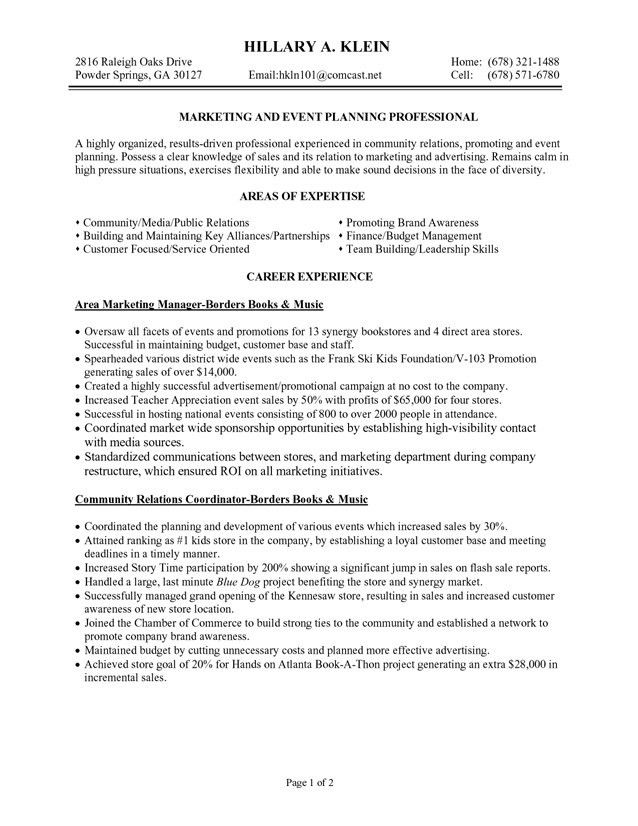 marketing professional resume samples marketing manager resume