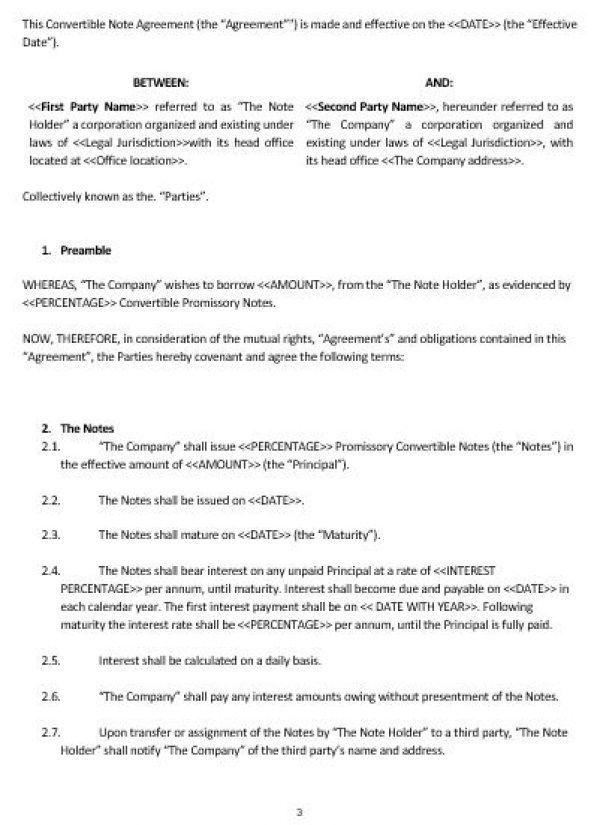 Note payable template - cvlook05.billybullock.us