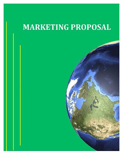 Marketing Proposal Template: Free Download, Edit, Fill, Create and ...