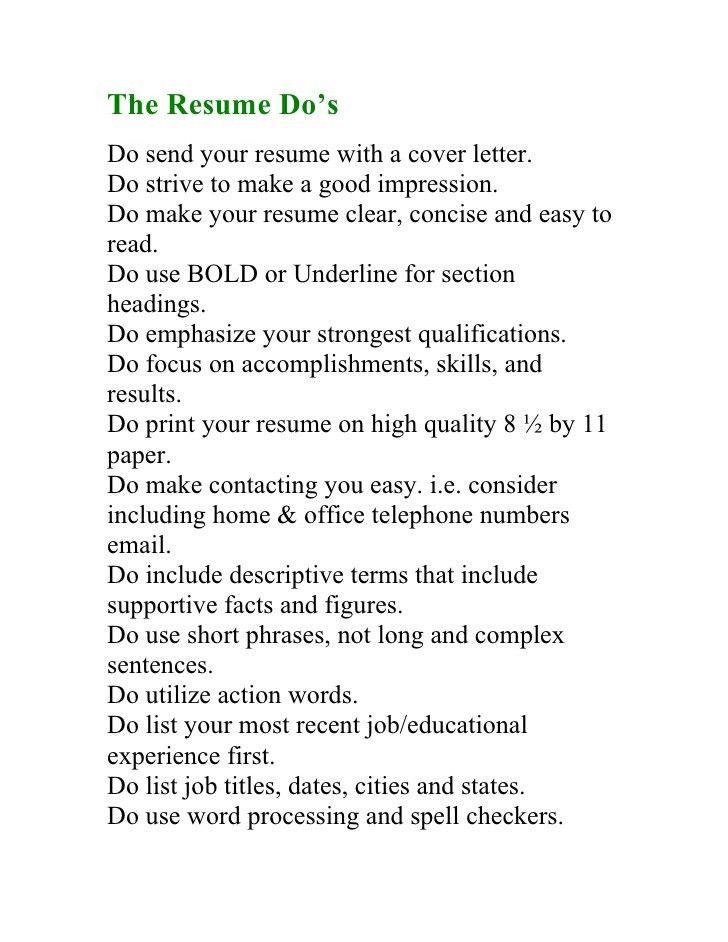 Winning Blueprint To Writing The Perfect Resume
