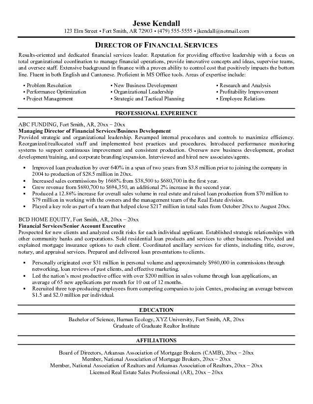 financial manager resume sample. choose. click here to download ...