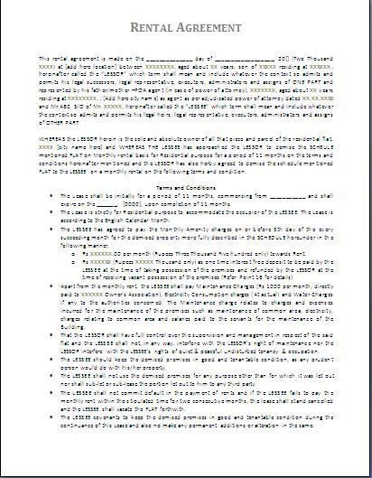 Consulting Contract Template. Maintenance Contract Sample 5 Free ...