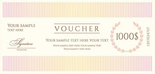 Wanna Design a Gift Certificate? Check Out These Free Templates