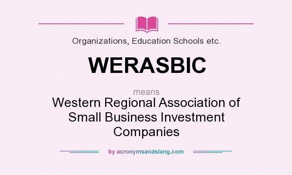 What does WERASBIC mean? - Definition of WERASBIC - WERASBIC ...