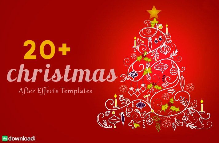 30 Top Christmas After Effects Free Template - Free After Effects ...