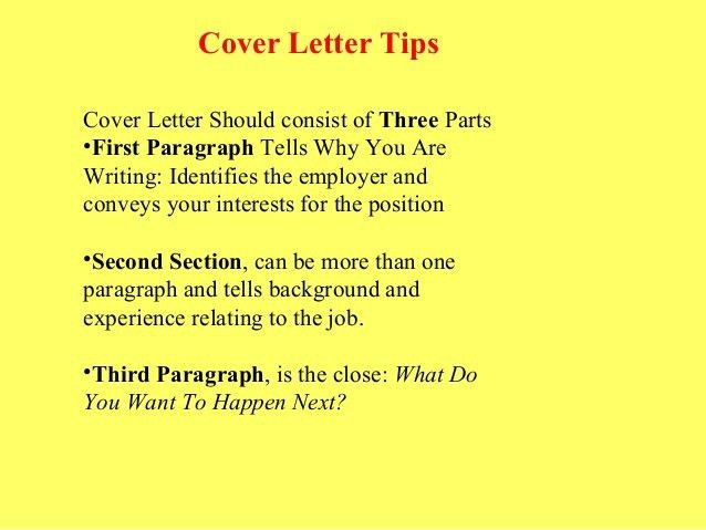 What Should A Cover Letter Consist Of - Resume CV Cover Letter