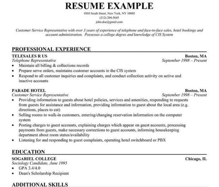 Gorgeous Inspiration Resume Objective Examples Customer Service 6 ...