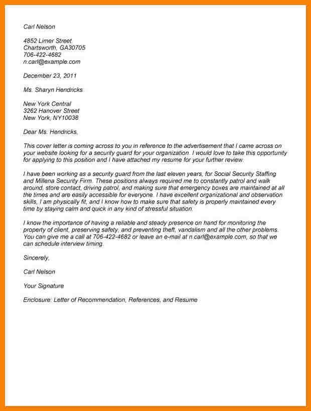 10+ security guard resignation letter | hr cover letter