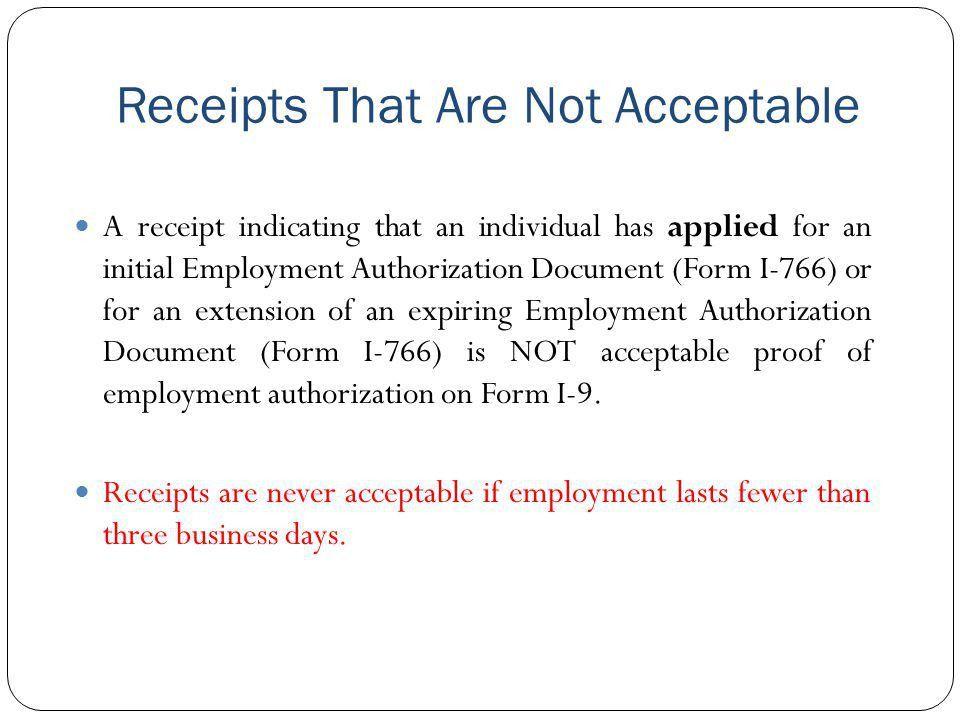 Proof Of Receipt Form | Jobs.billybullock.us