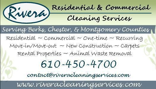 Residential Cleaning Services Business Cards