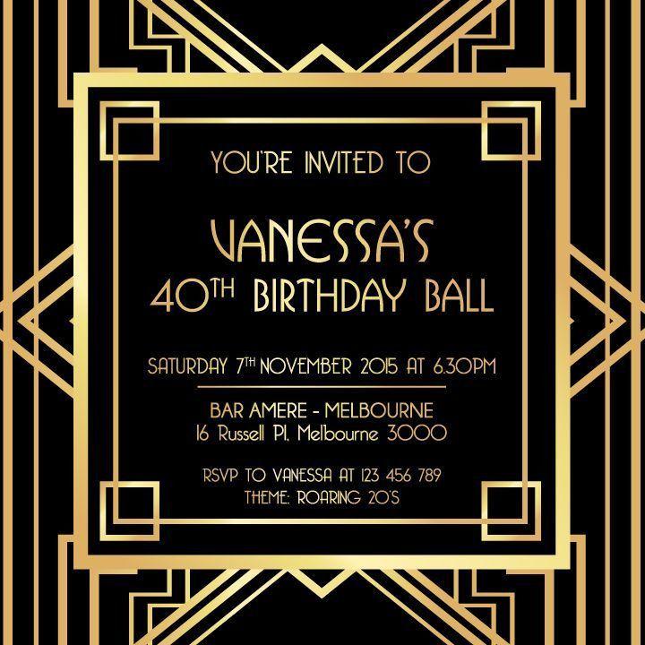 The 25+ best Birthday invitation templates ideas on Pinterest ...
