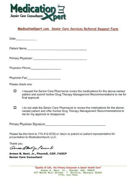 doctor referral form template