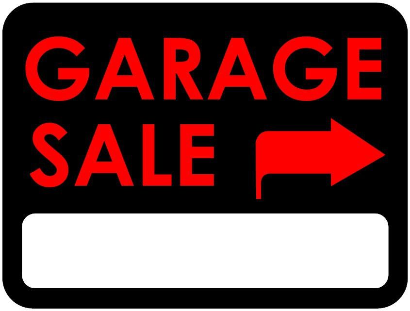 Garage: Inspiring garage sale signs ideas Yard Sale Signs ...