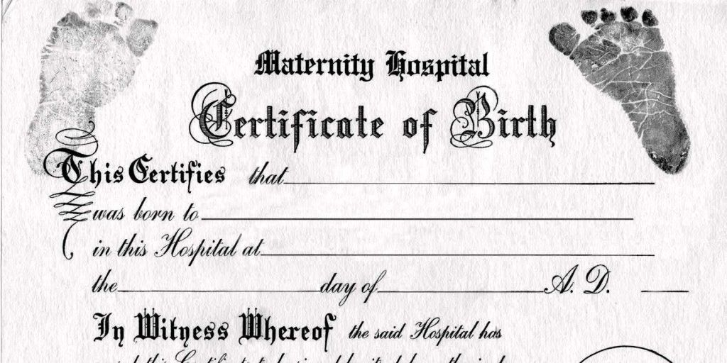 Birth Certificate Template In Word Certificate234 Word : Masir