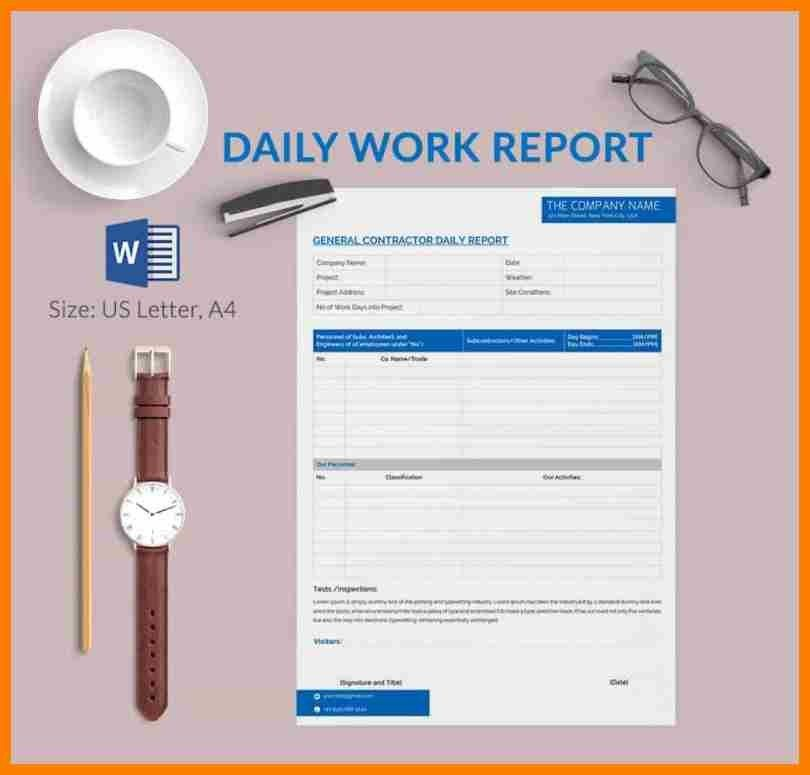 3+ daily working report format | sephora resume