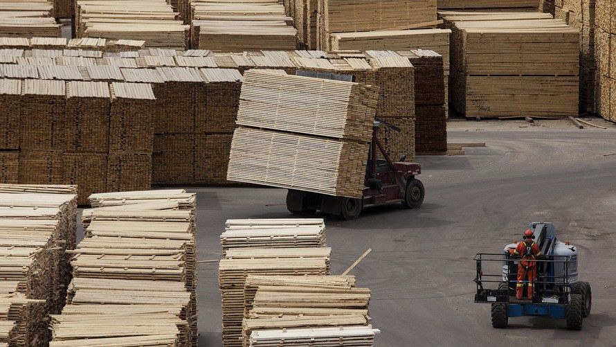 U.S. to slap 20% tariff on Canadian softwood lumber imports ...