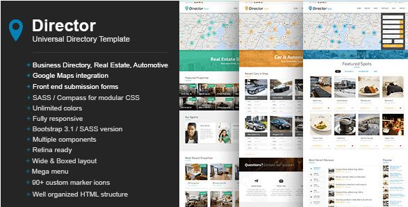 32 + Best Directory HTML Templates 2016