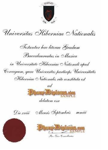 Fake Diploma from Ireland University - PhonyDiploma.com