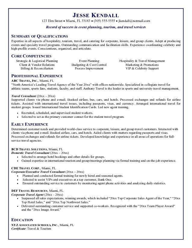 Car Rental Agent Resume Sample - Contegri.com