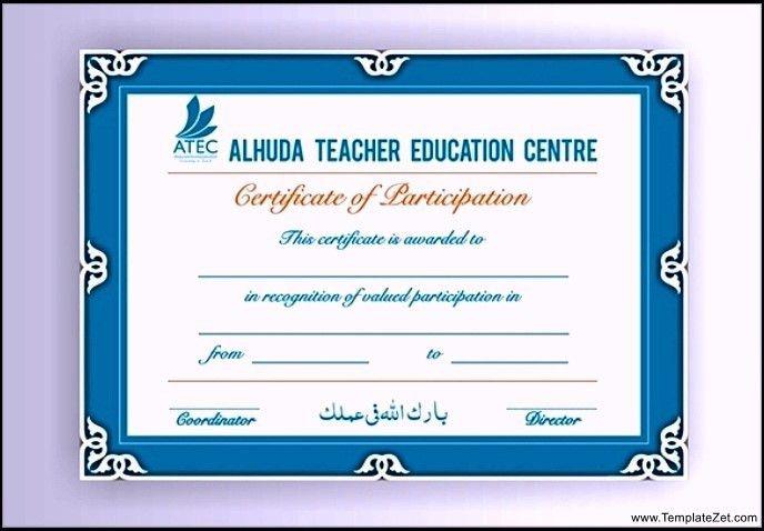 Sample Certificate of Training Download | TemplateZet
