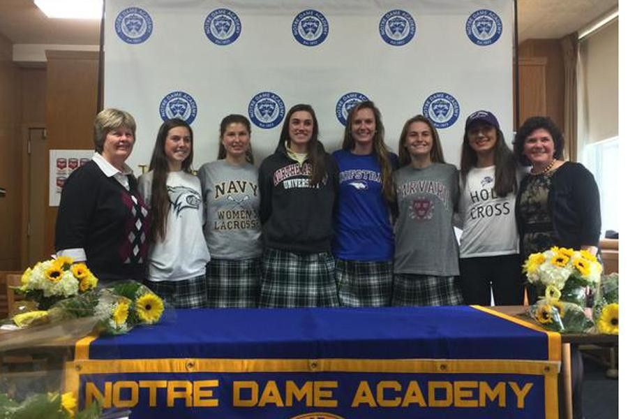 Athletes Sign National Letter of Intent – The Medallion