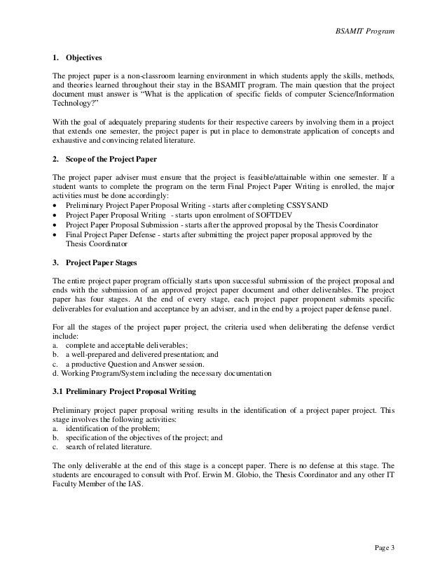 Project Proposal Example. Project Proposal - Stuart Kennedy ...