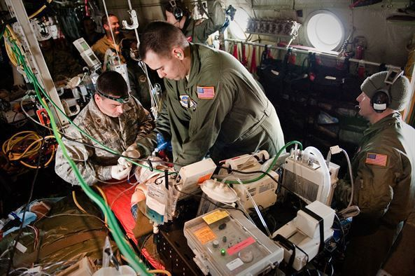 Kentucky Air Guard provides in-flight realism for aeromedical ...