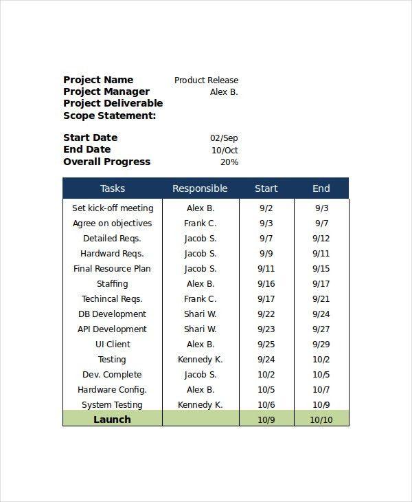 17+ Action Plan Templates | Free & Premium Templates