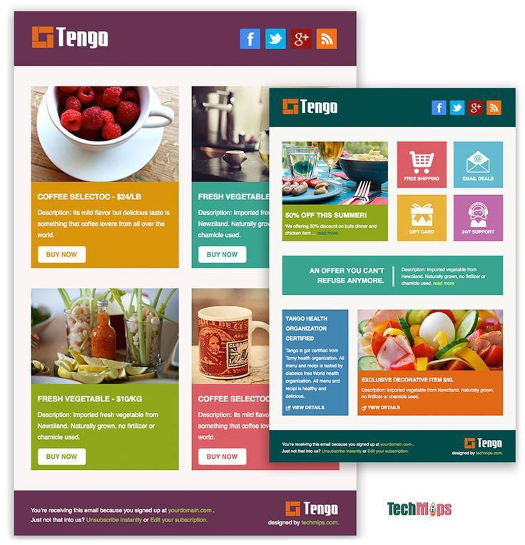 The 25+ best Html email templates ideas on Pinterest   Html ...
