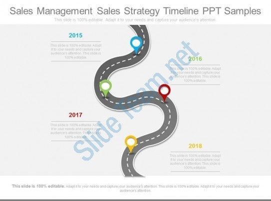 Sales Management Sales Strategy Timeline Ppt Samples | PowerPoint ...